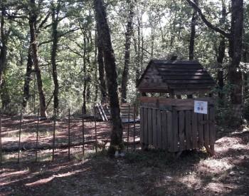 huttenbos, de eerste staat er al